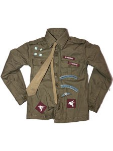 DID British Paratrooper Shirt w/Extras (Roy)